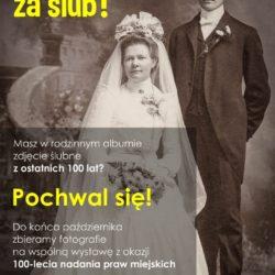 Ruszyła zbiórka zdjęć ślubnych