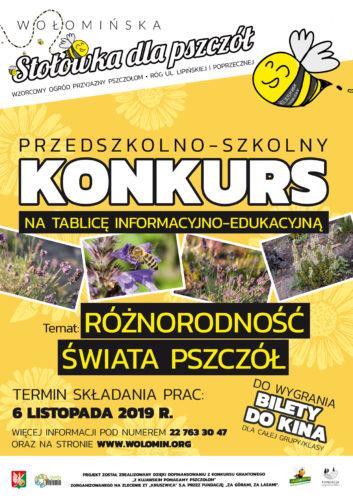 Różnorodność świata pszczół - konkurs