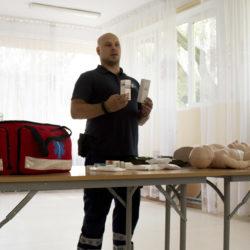 """Szkolenia """"Pierwsza pomoc przedmedyczna"""" - jeszcze są miejsca!"""