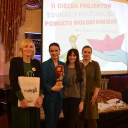 I Nagroda w II Wołomińskiej Giełdzie Projektów Edukacji Kulturalnej dla wołomińskiej Biblioteki