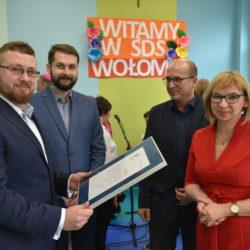Oficjalne otwarcie Środowiskowego Domu Samopomocy w Wołominie - fotorelacja