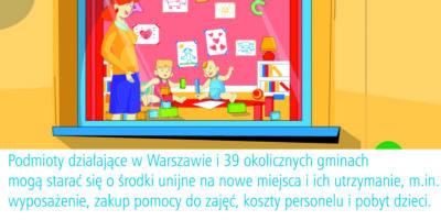 8,5 mln zł z UE na tworzenie nowych miejsc opieki nad dziećmi do lat 3
