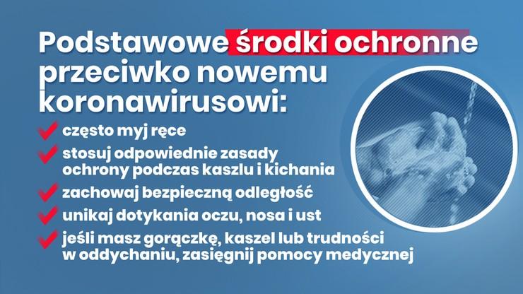 Koronawirus: jak uniknąć zakażenia?