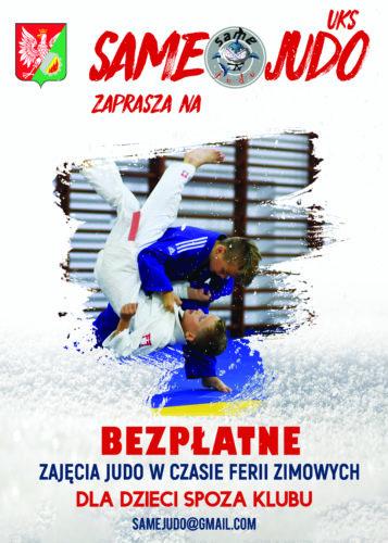 Ferie 2020 - bezpłatne treningi judo
