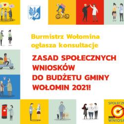 Zaczynamy konsultacje zasad Społecznych Wniosków na 2021 rok