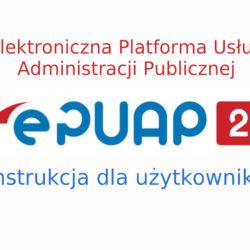 Instrukcja obsługi ePUAP