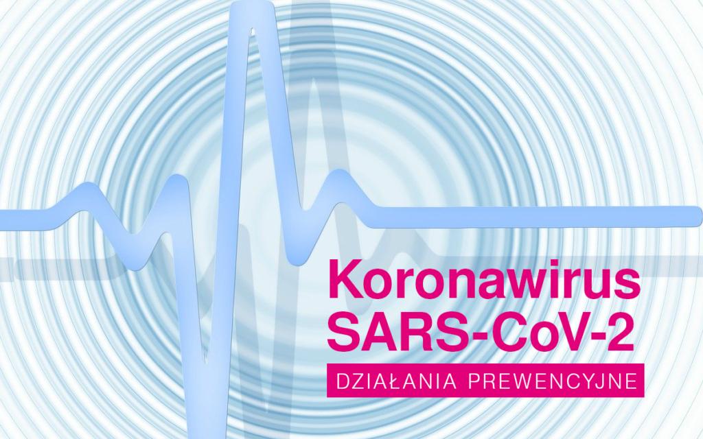 Koronawirus SARS-CoV-2 Działania prewencyjne