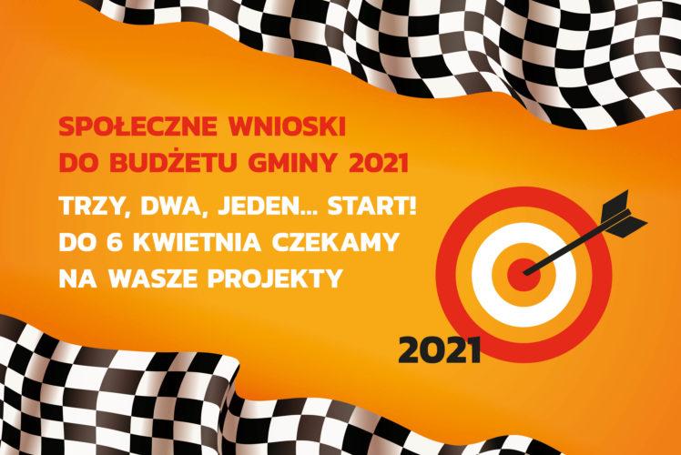 Startują Społeczne Wnioski na rok 2021!
