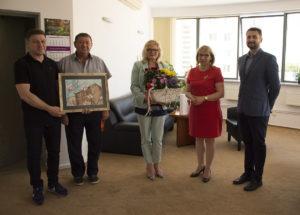 Wizyta delegacji wołomińskiej na zaprzyjaźnionym Targówku