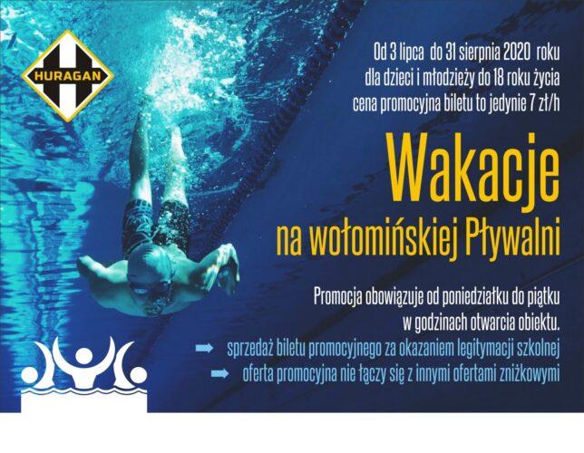 Wakacyjna oferta wołomińskiej pływalni