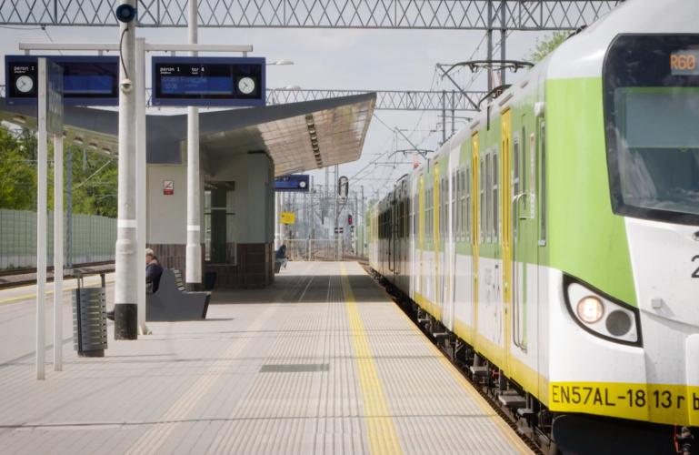 Spotkanie z przedstawicielami spółki PKP Polskie Linie Kolejowe SA