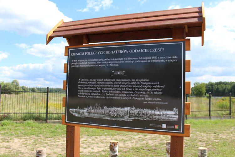 Dbamy o miejsca pamięci w Ossowie