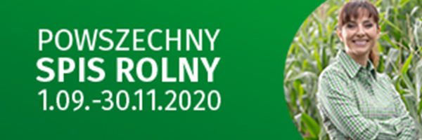 Powszechny spis rolny 1.09-30.11.2020
