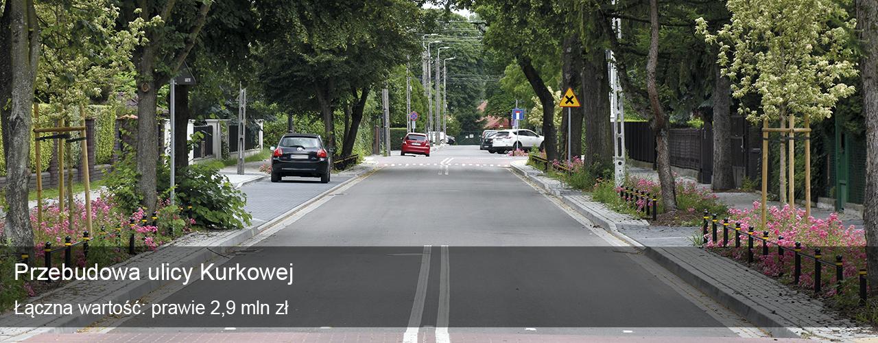 Przebudowa ulicy Kurkowej