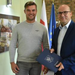 Podpisaliśmy umowę na budowę parkingu P+R przy stacji PKP Zagościniec w Lipinkach