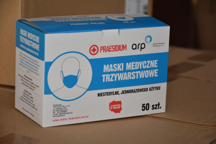 Gmina Wołomin otrzymała środki niezbędne do walki z koronawirusem