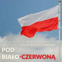 Wygrajmy maszt z biało-czerwoną flagą dla gminy Wołomin!