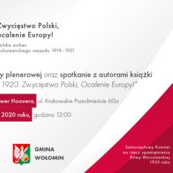 Inauguracja wystawy plenerowej z okazji 100. rocznicy Bitwy Warszawskiej 1920 roku