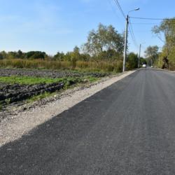 Odbiór ul. Rolnej we wsi Nowe Lipiny
