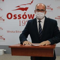 przemówienie zastępcy burmistrza Wołomina