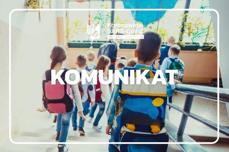 Koronawirus w Szkole Podstawowej numer 3