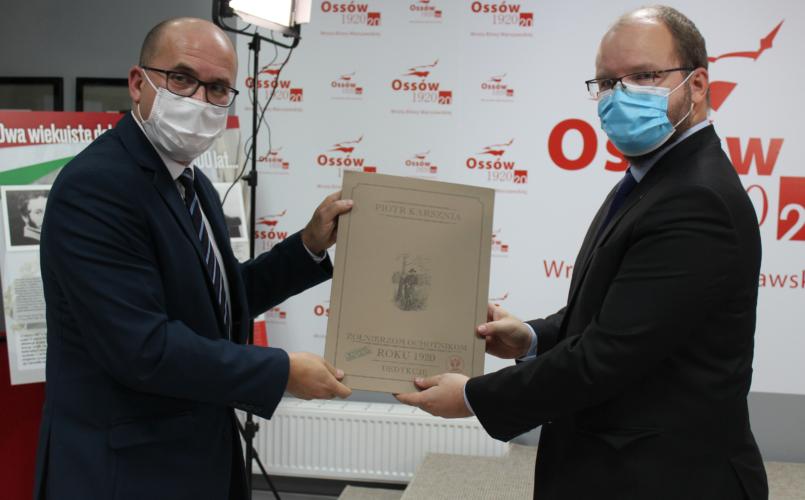 Otwarcie wystawy w Ossowie