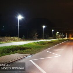 oświetlenie LED uliczne