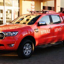 Nowy, czerwony samochód dla OSP