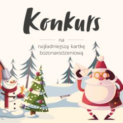 Konkurs na kartkę świąteczną - Boże Narodzenie 2020
