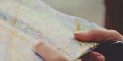 trzymanie mapy
