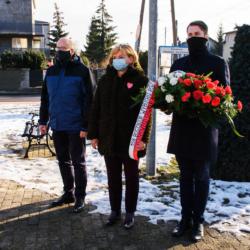 złożenie kwiatów