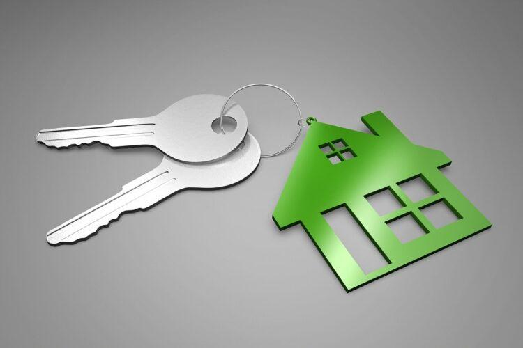 klucze i dom