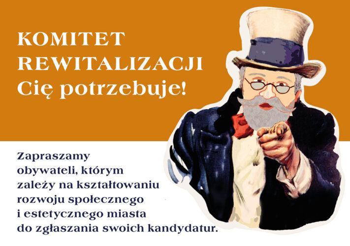 Rysunkowy Henryk Wojciechowski zachęca do głosowania