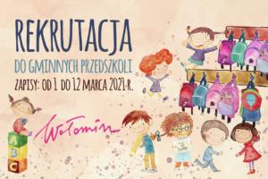 Rekrutacja do gminnych przedszkoli od 1 do 12 marca