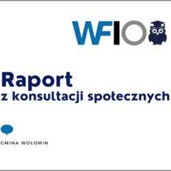 Grafika dot. konsultacji społecznych z WFIO