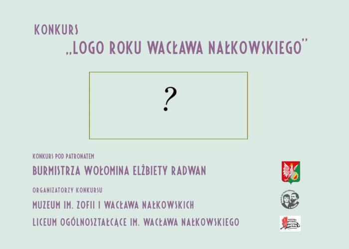 Konkurs na logo Roku Wacława Nałkowskiego