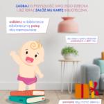 Biblioteczna paka dla niemowlaka