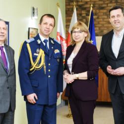 wizyta w gabinecie Burmistrz Wołomina