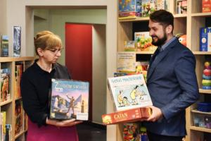 Otwieramy Wypożyczalnię Gier Planszowych w Miejskiej Bibliotece