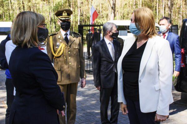 Wizyta delegacji Rumunii w Ossowie