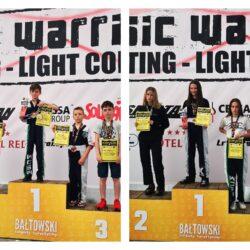 zawodnicy na podium
