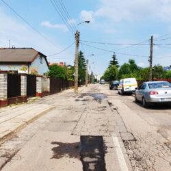 ulica Leszczyńska przed remontem