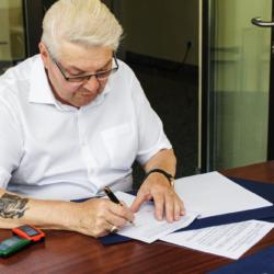 podpisanie umowy ul. Sikorskiego