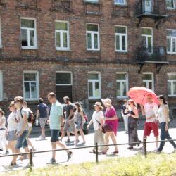 Spacer po Wołominie foto: Piotr Żurawski