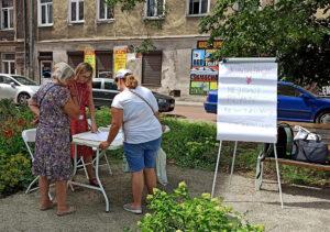 park kieszonkowy w Wołominie, konsultacje