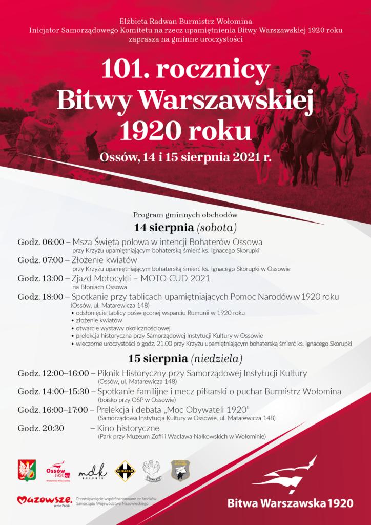 Plakat Bitwa Warszawska 1920
