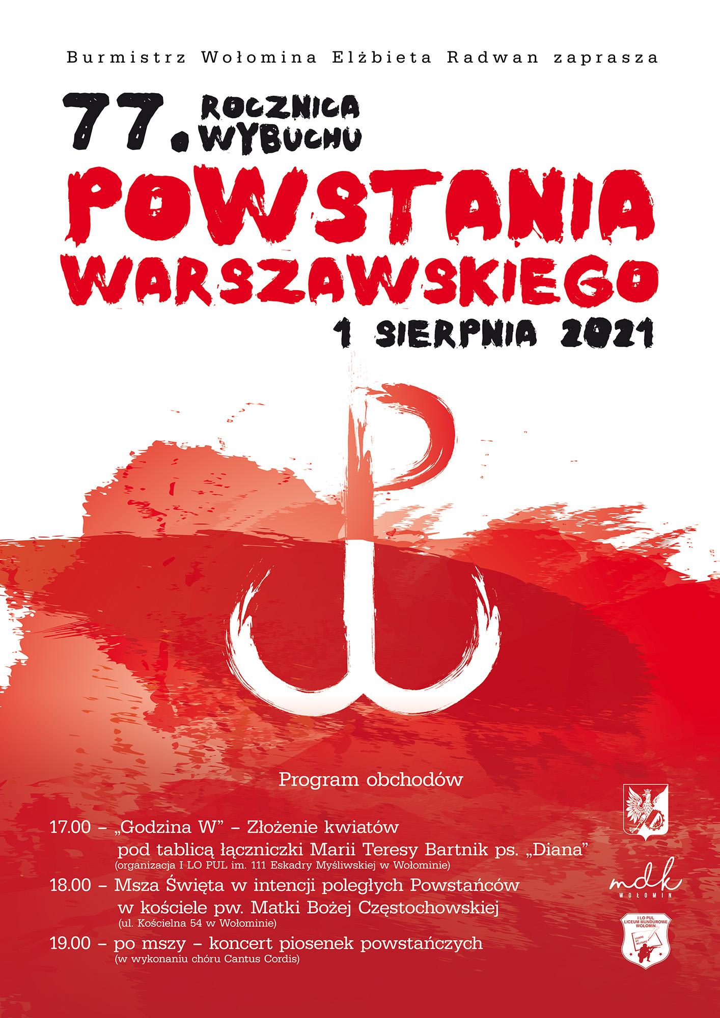 plakat powstanie warszawskie