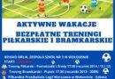 Bezpłatne zajęcia piłkarskie