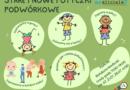 rysunki dzieci i rodzin podczas gier