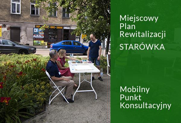 zdjęcie przedstawia park kieszonkowy i uczestników konsultacji